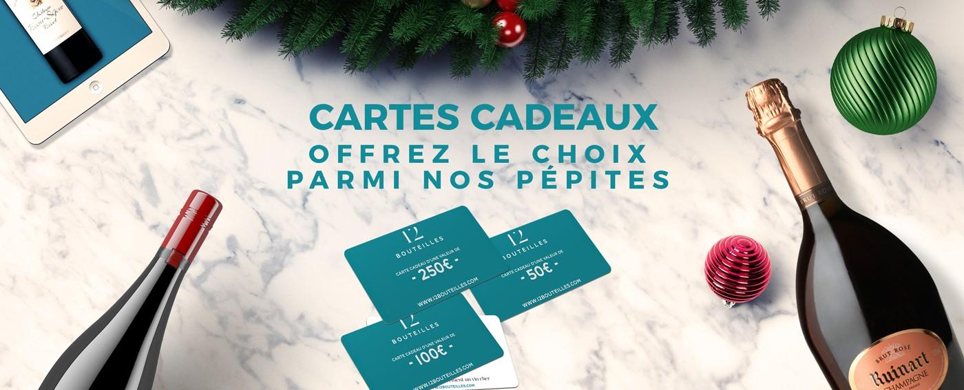 Cartes Cadeaux 12bouteilles