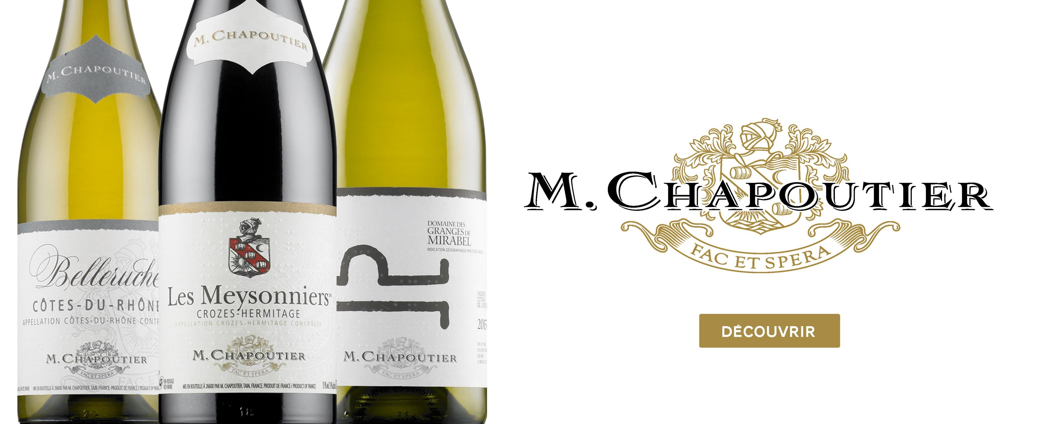 Les vins de Chapoutier
